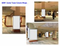 NEW! Center Tower Lobby Column Wraps
